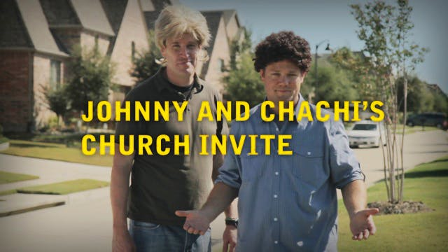 Johnny and Chachi's Church Invite
