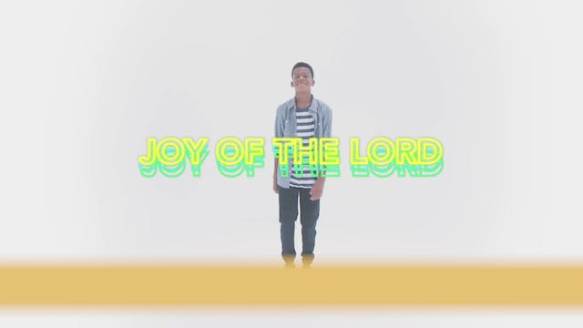 Joy of the Lord - Hand Motions