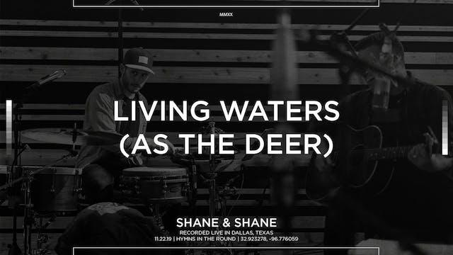 Living Water (As The Deer) [Acoustic]