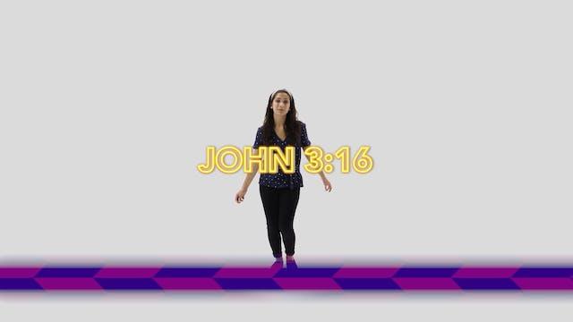 John 3:16 - Hand Motions