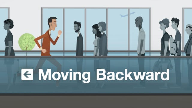 Moving Backward
