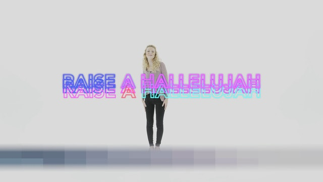 Raise A Hallelujah - Hand Motions