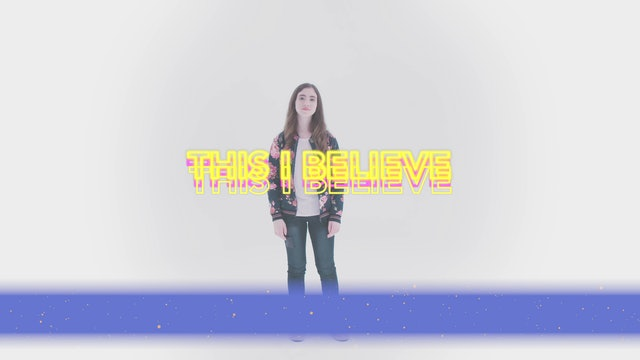 This I Believe - Hand Motions