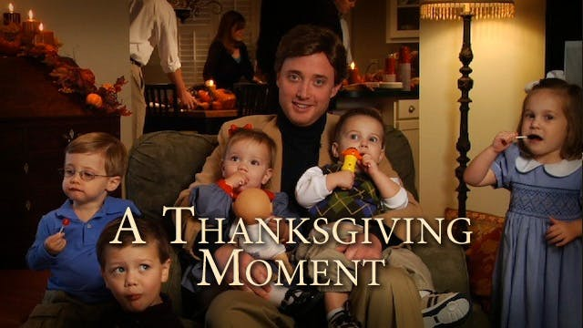 A Thanksgiving Moment
