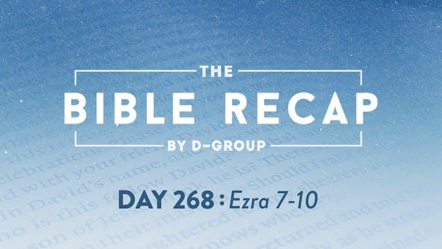 Day 268 (Ezra 7-10)