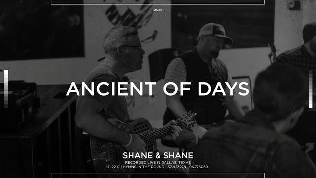 Ancient of Days [Acoustic]