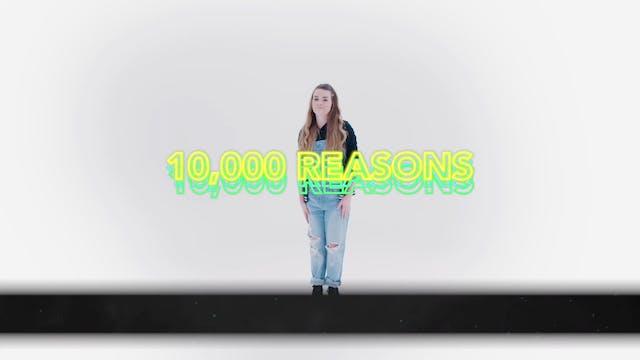 10,000 Reasons - Hand Motions