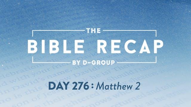 Day 276 (Matthew 2)
