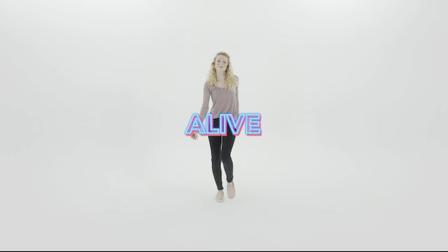 Alive - Hand Motions