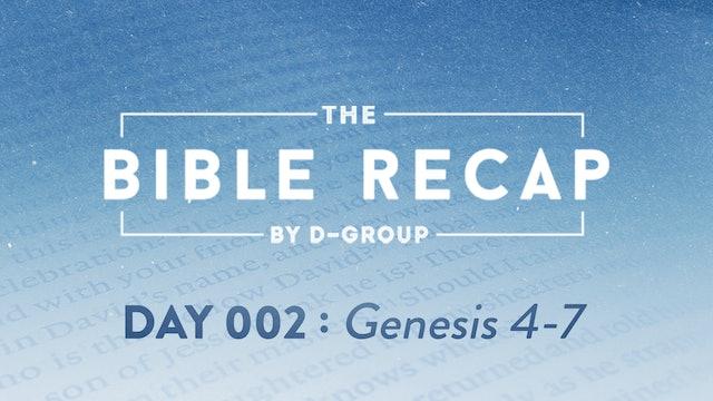 Day 002 (Genesis 4-7)