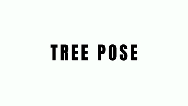 TREE POSE BREAKDOWN