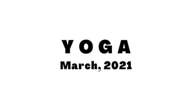 March Yoga