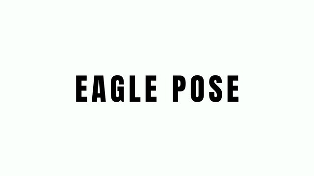 EAGLE POSE BREAKDOEN