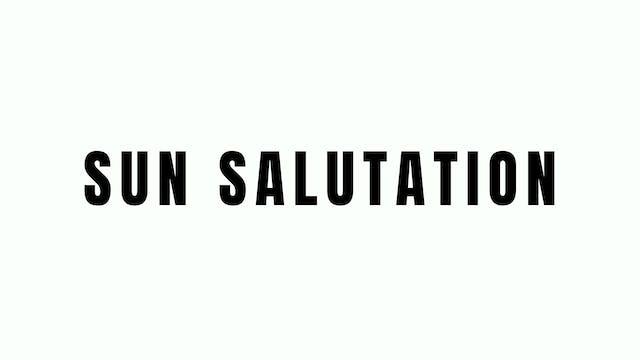 Sun Salutation Breakdown