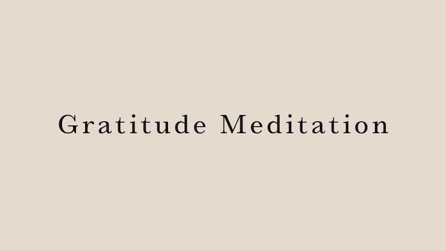 Gratitude Meditation by Arisa Iguchi
