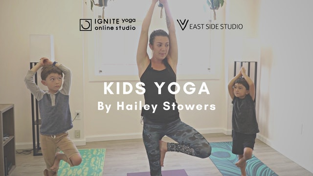 IGNITE YOGA HAWAII - KidsClass by Hailey Stowers (EAST SIDE HILO)