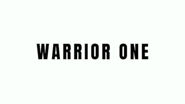 Warrior One Breakdown