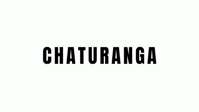 Chaturanga Breakdown