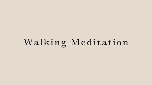 Walking Meditation by Megumi Sasaki