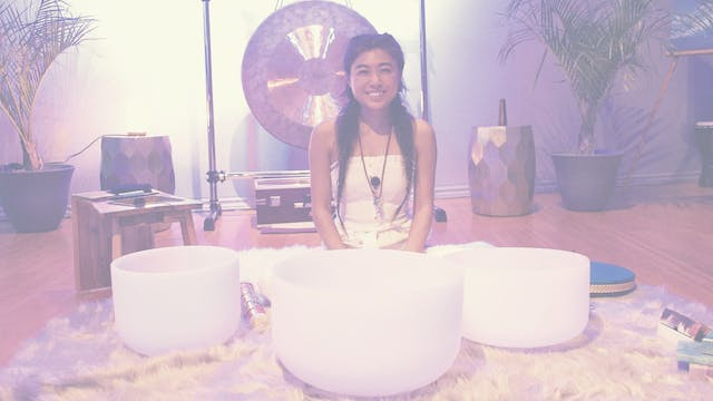New moon  sound bath experience by Ma...