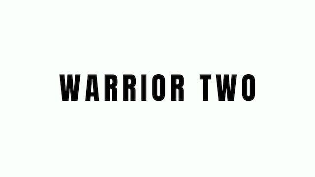 Warrior Two Breakdown