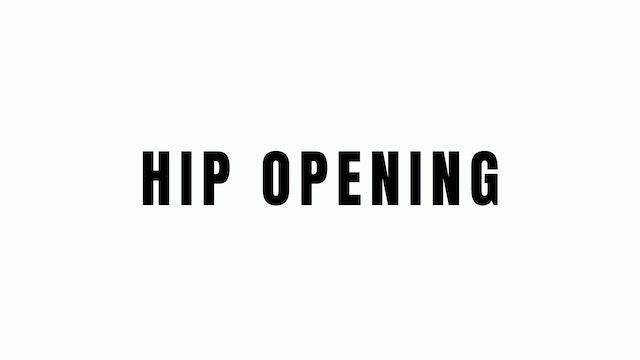 Hip Opening Breakdown