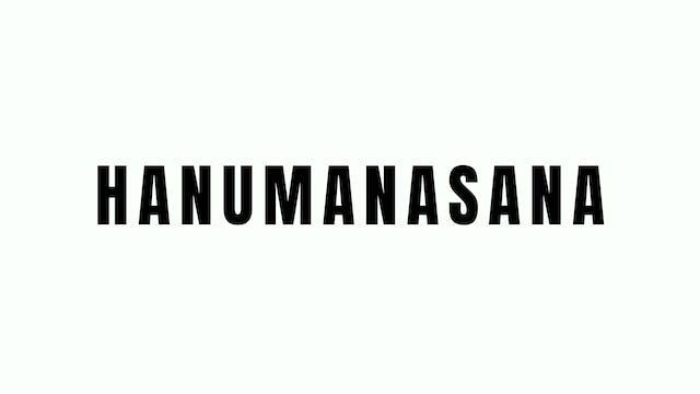 Hanumanasana Breakdown