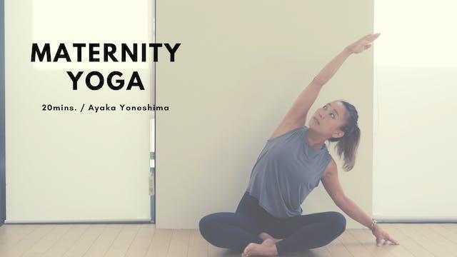 Maternity Yoga by Ayaka Yoneshima