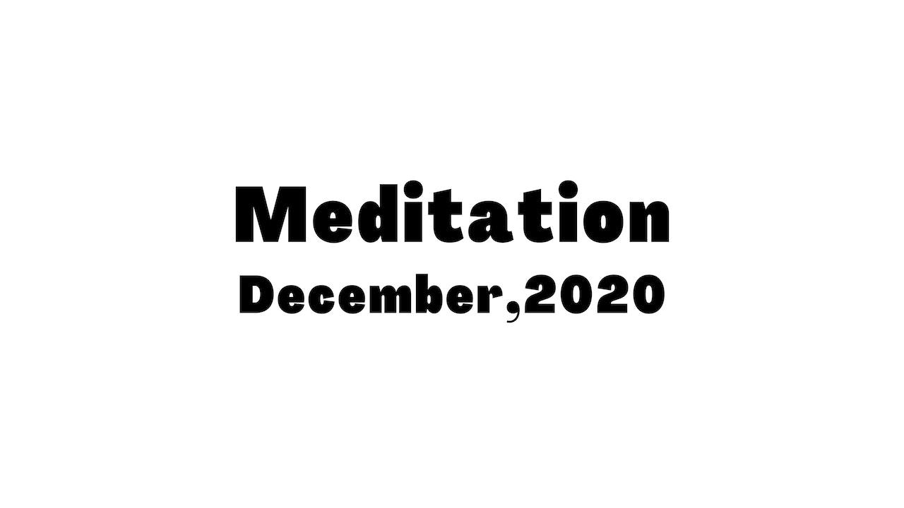 December Meditation