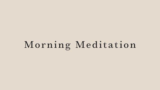 Morning Meditation by Arisa Iguchi