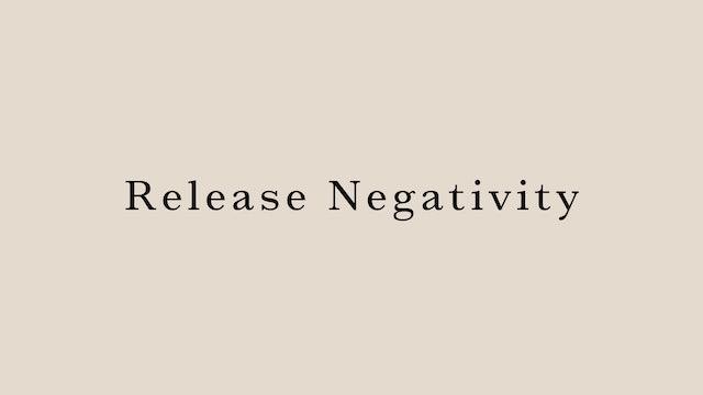 Release Negativity by Hanako Tomita