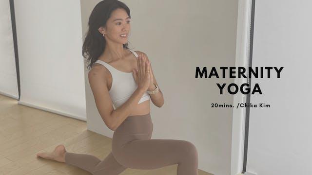 Maternity Yoga by Chika Kim