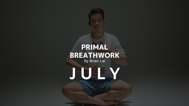 Primal Breathwork : July