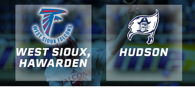2017 Football Class A Final - West Sioux, Hawarden vs. Hudson
