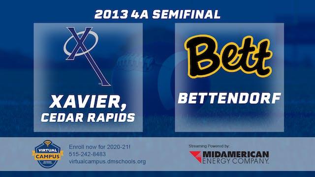 2013 Football 4A Semifinal - Xavier, ...