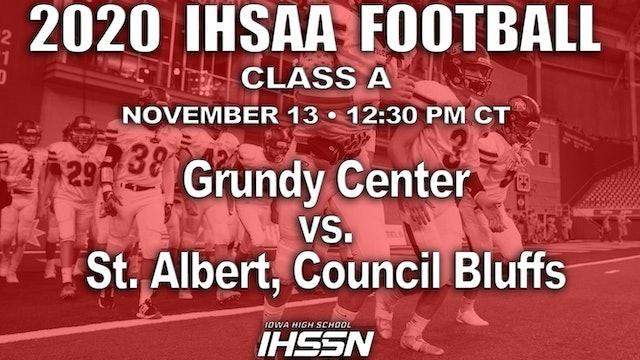 Grundy Center 34 vs St. Albert, Council Bluffs 6 - CLASS A SEMI FINAL