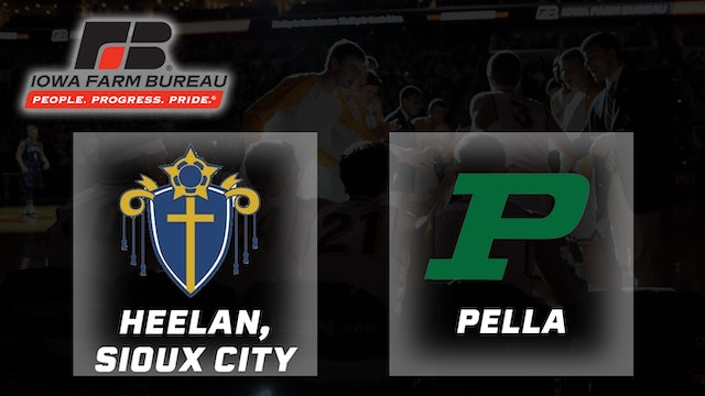 2010 Basketball 3A Final - Heelan, Sioux City vs. Pella