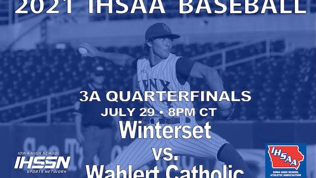 2021 3A Baseball Quarter Finals: Wint...