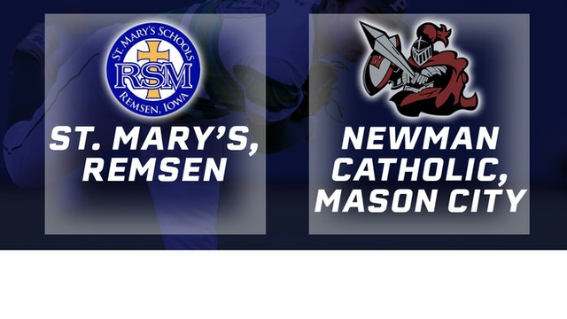 2016 Baseball 1A Semifinal - St. Mary's, Remsen vs. Newman Catholic, Mason CIty