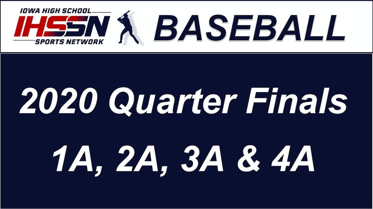 Baseball ' QTR FINALS