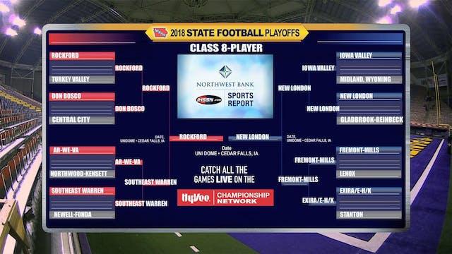 2018 Football 8-Player Semifinal Game...