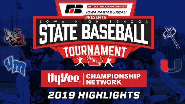 2019 State Baseball Tournament Highlights