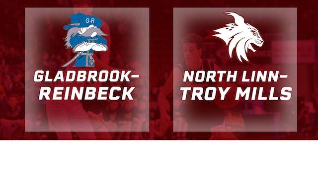 2017 Basketball 1A Semifinal (Gladbrook-Reinbeck vs. North Linn, Troy Mills)