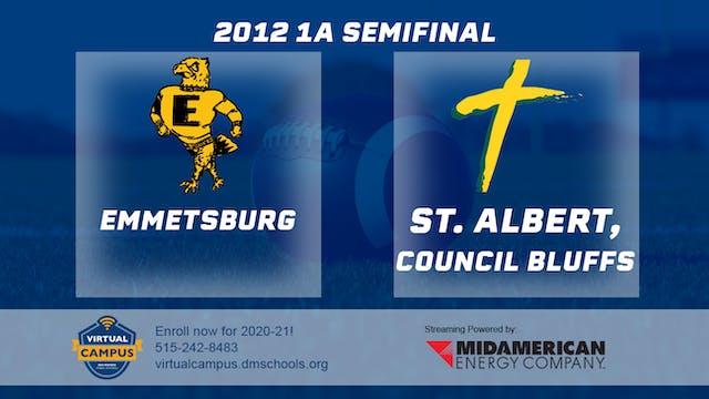 2012 Football 1A Semifinal - St. Albe...