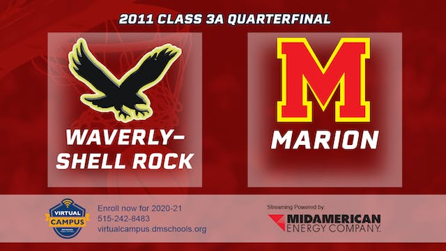 2011 Basketball 3A Quarterfinal - Wav...