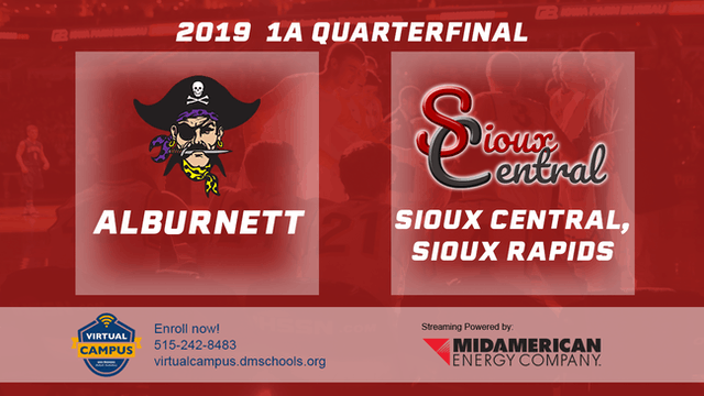 2019 Basketball 1A Quarterfinal - Alb...