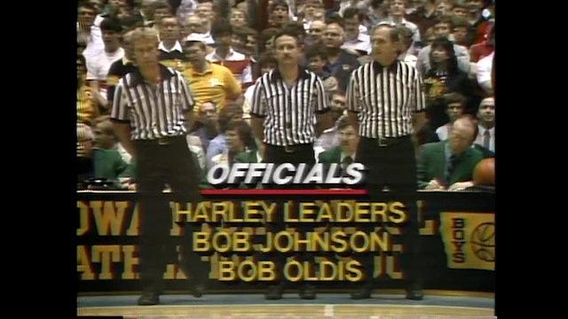 1985 Boys Basketball Class A Championship Game Lone Tree vs. Dayton Part 1