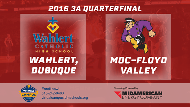 2016 Basketball 3A Quarterfinal Wahle...
