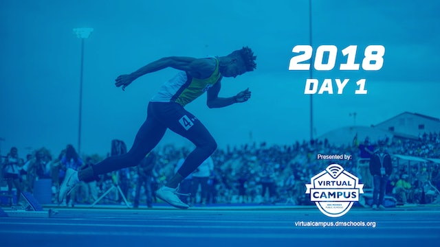 2018 Track & Field Day 1