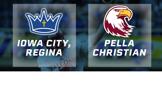2017 Football Class 1A Semifinal - Regina, Iowa City vs. Pella Christian